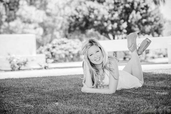 Amanda's Senior Pictures - Scottsdale Civic Center - Studio 616 Photography