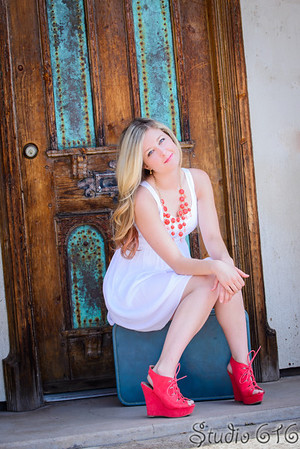 Amanda's Senior Pictures - Scottsdale Civic Center - Studio 616 Photography
