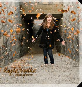 10x10 Hard Cover Book ~ Kayla V. 2010