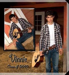 10x10 Hard Cover Book ~ Vinnie F. 2010