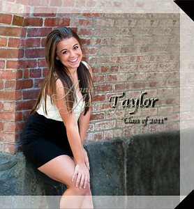 10x10 Hard Cover Book Sample ~ Taylor M. 2011