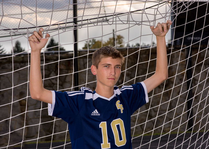 Cody's senior soccer pics.