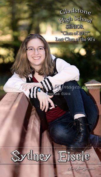 Sydney Eisele  4x7 Image Express single sided Grad Announcement