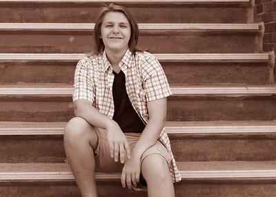 Jordan Stairs Sepia