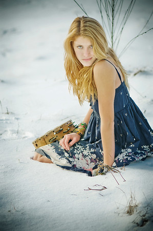 Jordyn's snow session