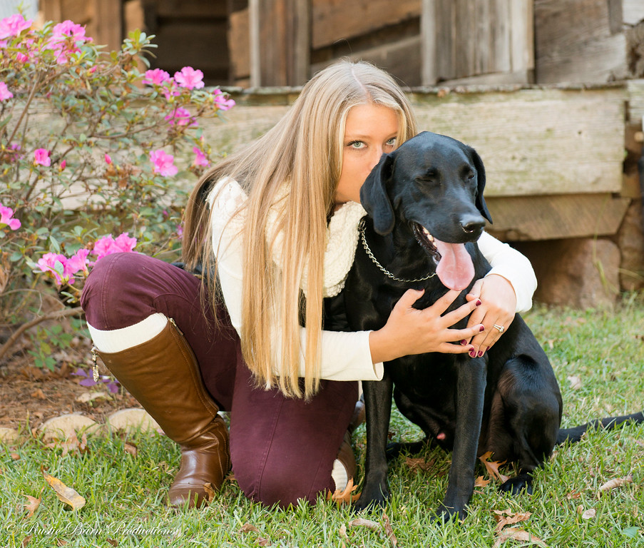 Meagan and Shadow