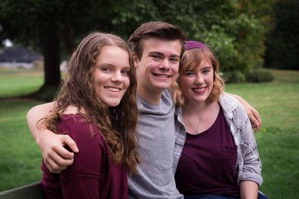 PUMP Grads - Trinity, Isaiah, Anna 2017