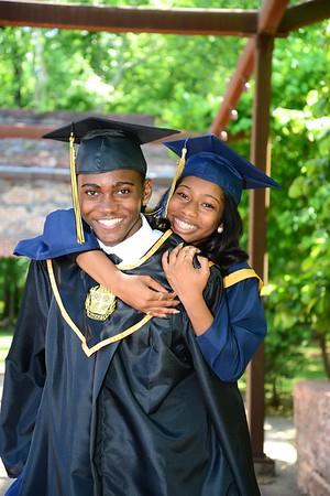 Sasha King and D'Angelo Strickland