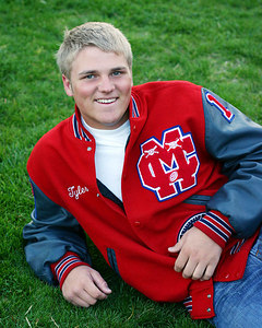 *My favorite letterman's jacket photo...