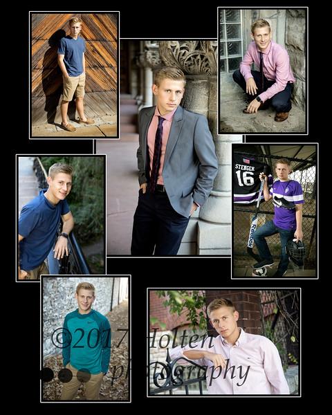 Zach Collage 16x 20