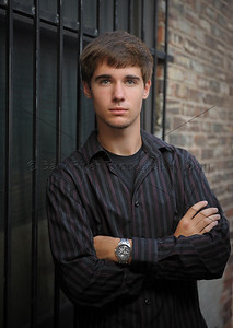 Is this a Senior Portrait or an image from GQ magazine? We try to add a uniqueness that you don't find at most Portrait Studios. We traveled off site to an urban alley, for a slight additional location charge.