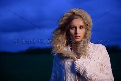 Senior Portraits on a Stormy Day.