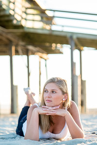 Hatteras Senior Portraits, Daniel Pullen Photography