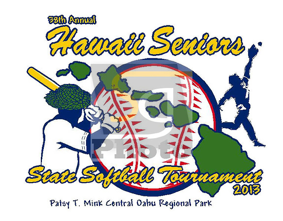38th Annual Hawaii Seniors Softball Tournament 2013