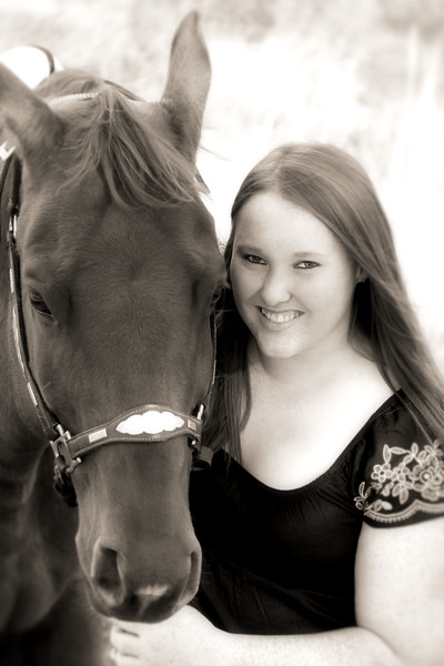 Jess and molly  black and white