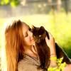 Holding kitty