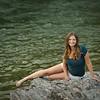 Hanging out at the Kooteni falls