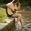 Guitar at the dock