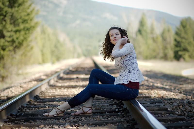 Rail road girl