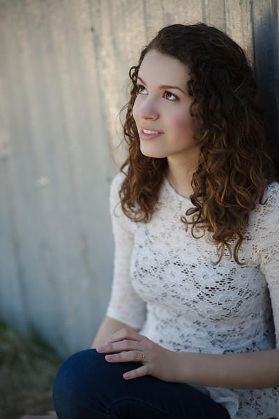lovely profile shot