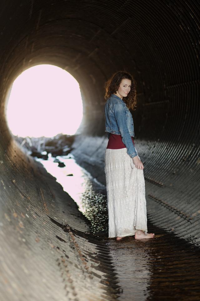 A walk through the tunnel