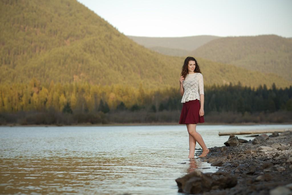 Beautiful lake side shot