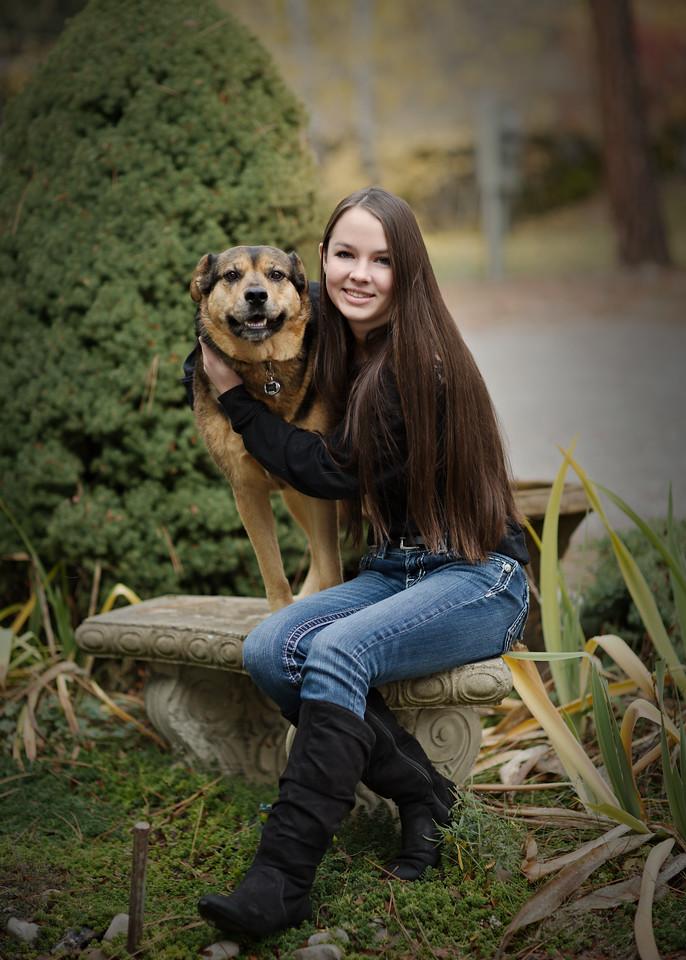 Linda and her dog Luna