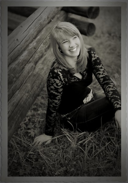 shot along the log fence rail