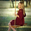 Sierra was the first to test out tanyas new swing for our photo shoots