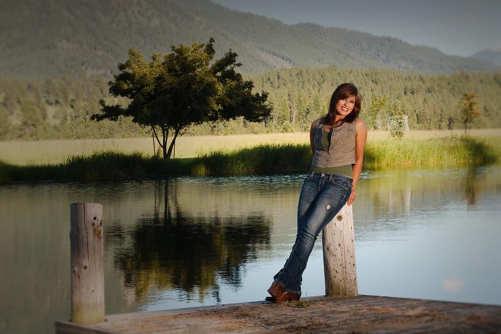 Scenic shot on the dock