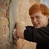close up shot at the wall location