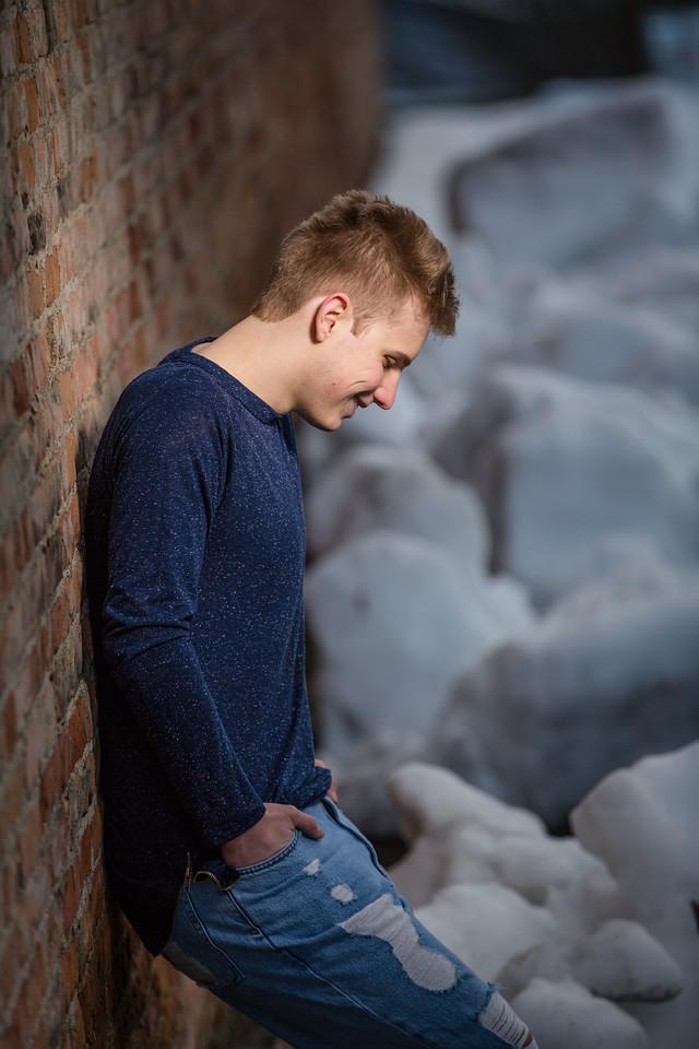 great profile shot at th old brick builing