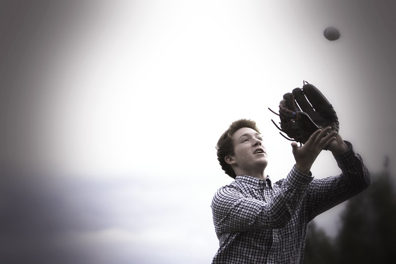 hes got a love for base ball