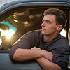 cool profile in truck window