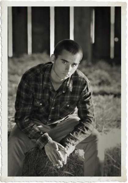 Vintage shot in the barn