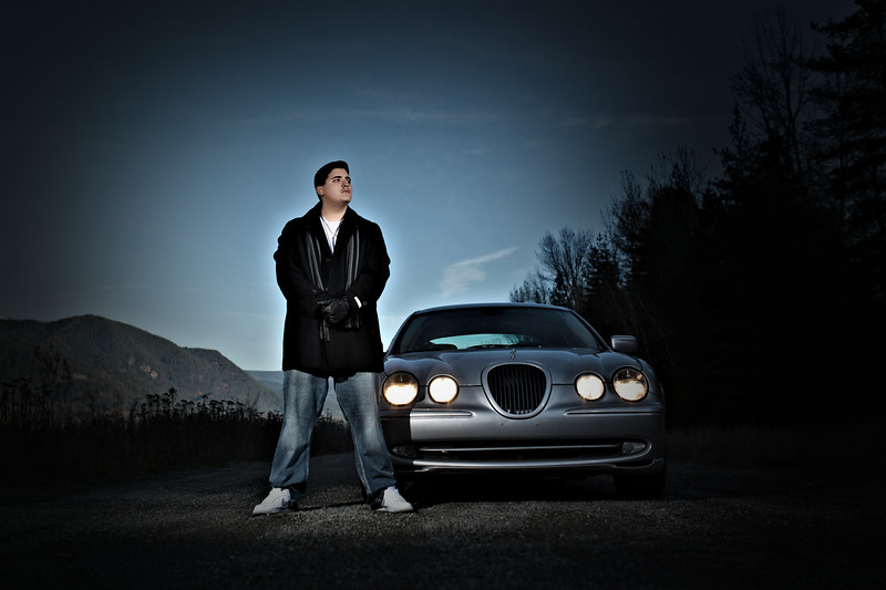 with the jag in color