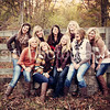 Cassidy, Katie, Ally, Abbey, Anna, Kayla, Genny Grace, Caleigh, & Erica- Seniors 2013 :