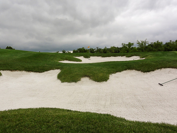 Two weeks of continuous rain preceded the arrival of the MWGA at Jefferson City Country Club.   Ominous skies during the practice round did not bode well for getting players out on the soaked course.