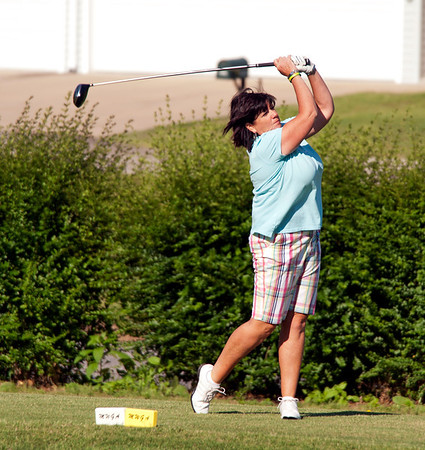 Stephany Powell of Springfield in her first Senior Championship