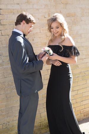 Delynn & Brian Prom 1-13-18