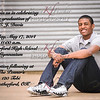 CJ Davis Grad Announcement side 1