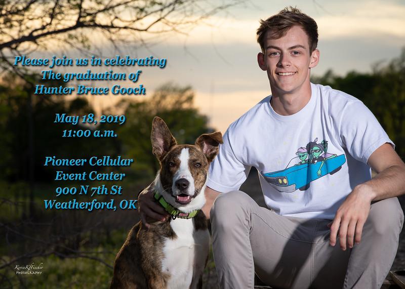 Hunter Gooch~Grad Announcement Side 1