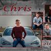 Chris Thompson Grad Announcement side 2