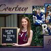 Courtney Scouten~Grad Announcement Side 2