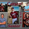 Carson Young~Grad Announcement side 2