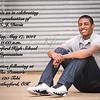 CJ Davis Grad Announcement side 1