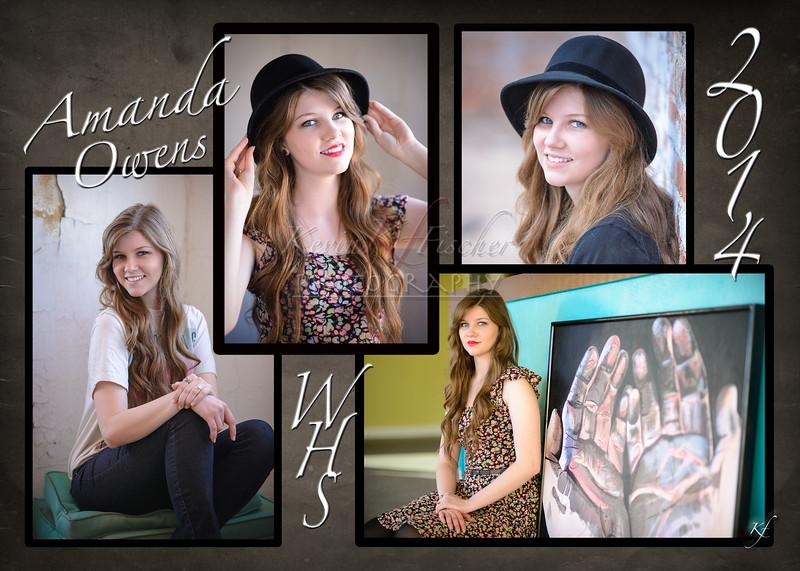 Amanda's Grad Announcement -side 2