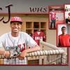 CJ Davis Grad Announcement Side 2