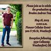 Braden Teasley~Grad Announcement side 1