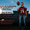 Carson Young~Grad Announcement side 1